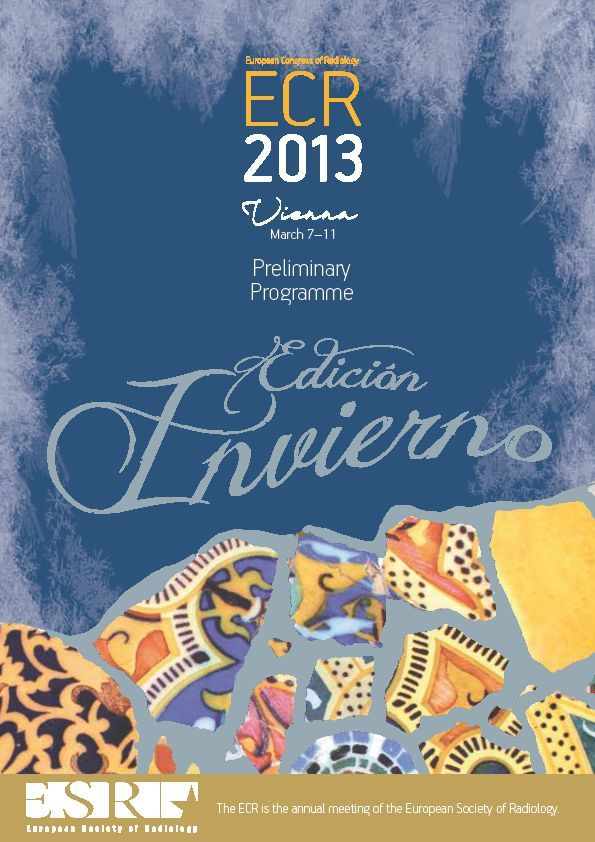 Cover Preliminary Programme Edition Invierno